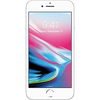 Apple iPhone 8, 256GB, Silver - for AT&T/T-Mobile (Renewed)