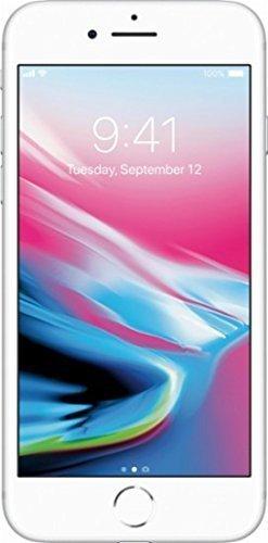 Apple iPhone 8, GSM Unlocked, 64GB - Silver (Certified Refurbished)