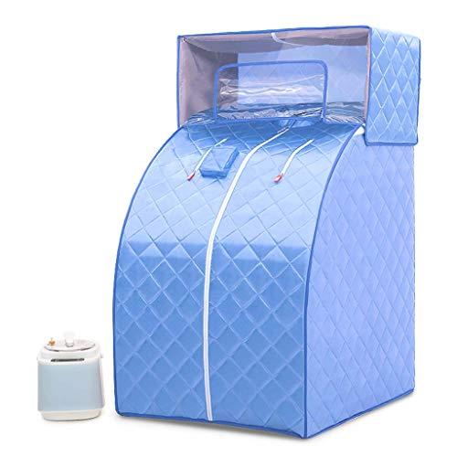 Sauna de Vapor portátil - Calentador infrarrojo Sauna Box 1000W, Ajuste de la Temperatura de 1-9 Engranajes Controlado...