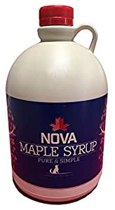 Nova Maple Syrup - Pure Grade-A Maple Syrup (Half Gallon)
