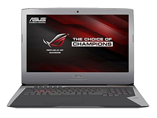 ASUS ROG G752VL-DH71 17 Inch Gaming Laptop, Nvidia GeForce GTX...