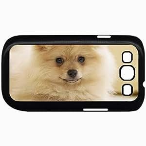 Fashion Unique Design Protective Cellphone Back Cover Case For Samsung GalaxyS3 Case Dogs Pomeranian 31047 Black
