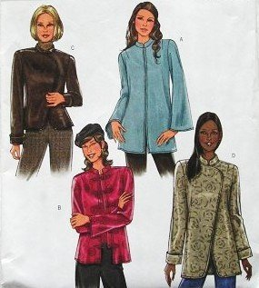 BUTTERICK B4294 ~ 4 JACKET STYLES (MISSES / MISSES' PETITE SIZE 16, 18, 20, 22) SEWING PATTERN