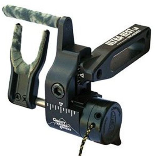 Quality Archery Products Pro Series Ultra Arrow Rest (Left Hand, Black)