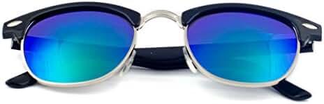 Goson Classic 50mm Horned Rim Clubmaster Glasses
