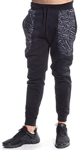 GRIMEY Pantalon Chandal GRIMEOLOGY Sweatpants FW16 BLACK-3XL ...