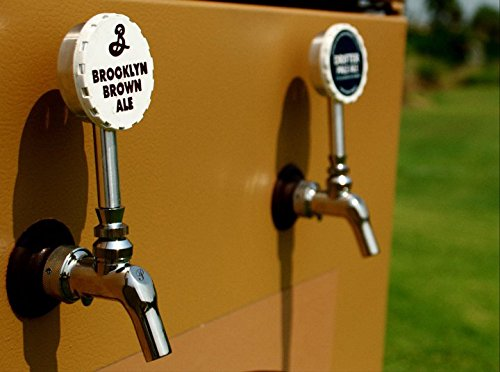 Keg Cap Tap Handle For Bar or Kegerator - Let Everyone Know What Draft Beer Is On Tap By Changing Your Keg Cap