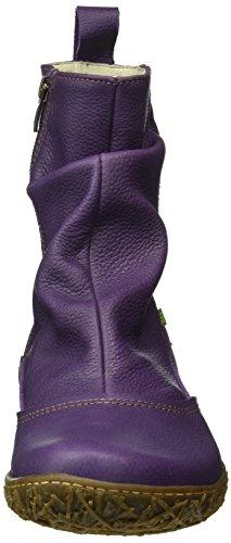 El Naturalista Damen N722 Soft Grain Purple/Nido Schlupfstiefel Violett (PURPLE NP4)