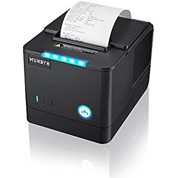 Amazon.com: Receipt Printer, 80MM USB LAN Ethernet Pos ...