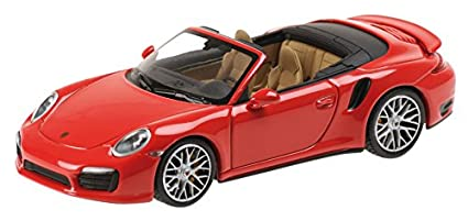 Minichamps 2013 Porsche 911 Turbo S, red