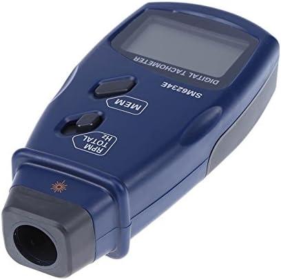 3in1Portable Professional Photo Tachometer Wide Measuring Range For 2.5~99999 RPM Digital Tachometer /0.05~1666Hz/1~99999Total SM6234E