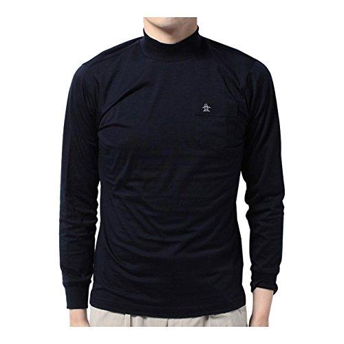 マンシングウェア(Munsingwear) 長袖シャツ JWMJ109 M145 ネイビー M
