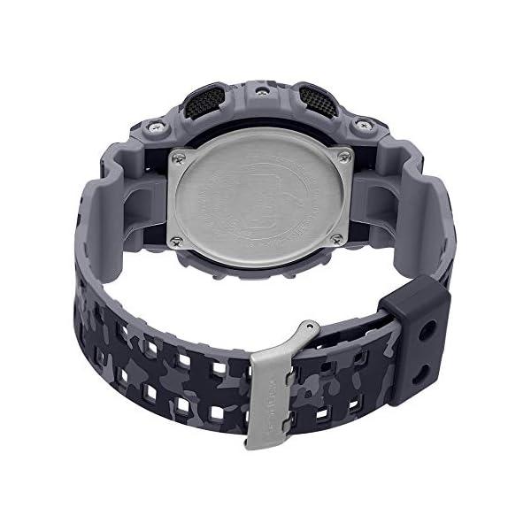 Casio Malla Me Up G SHOCK Cuarzo: Batería Reloj (Modelo de Asia) GA-100CM-8A 5