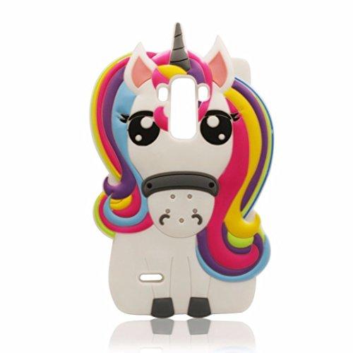 Joyleop Rainbow Unicorn Case for LG G Stylo