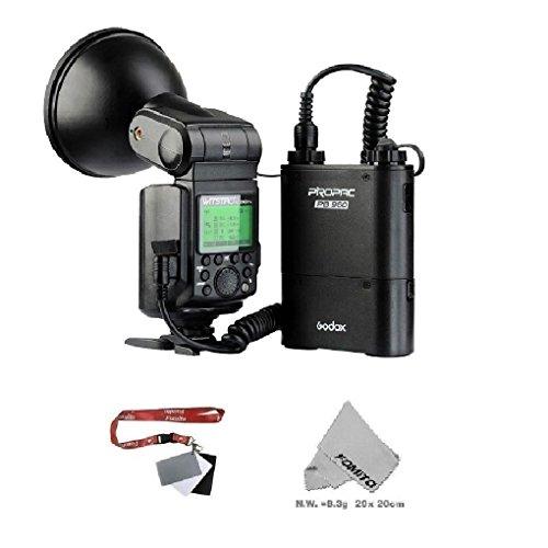Fomito GODOX 大光量ポータブルフラッシュ AD360II-C WITSRO TTL Powerful & Portable Flash Canon カメラ対応 黒いの商品画像