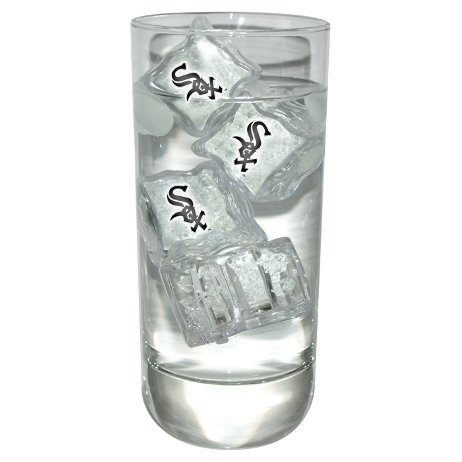 Team Sports America Chicago White Sox MLB Light-Up Ice Cubes