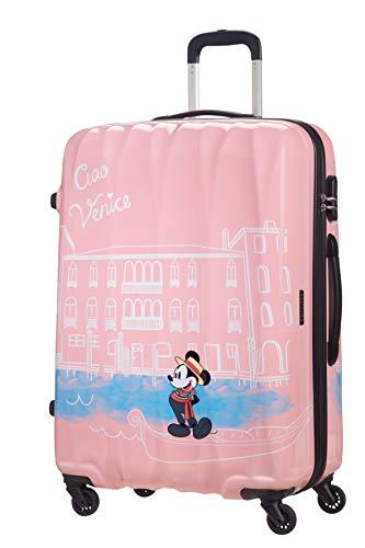 62.5 Litre American Tourister Disney Legends Spinner M Suitcase Multicolour Mickey Flash Pop 65 cm