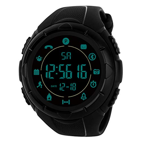 - Men's Watches,Fxbar Military Use Men Sport Analog Dive Watch Outdoor Smartwatch 24h All-Weather Monitoring Men Watch(A)