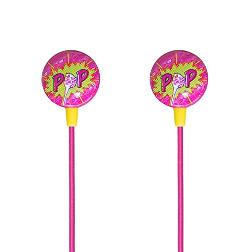 iHip DUM DUMS Candy Stereo Earbud with