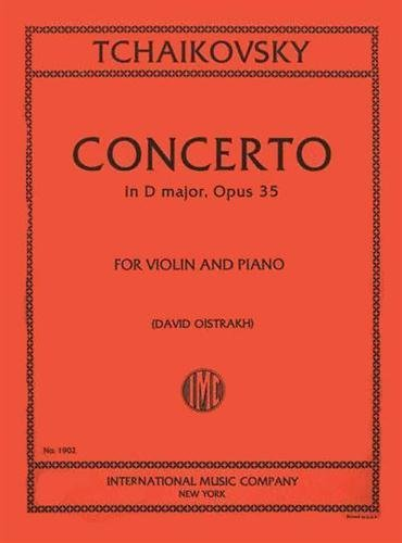 Amazon com: Tchaikovsky: Concerto in D Major, Op  35, for Violin and