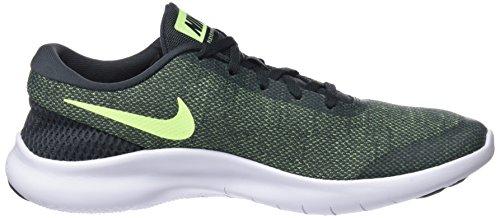 Nike Heren Flex Ervaring Rn 7 Hardloopschoen Antraciet / Volt Glow-wit
