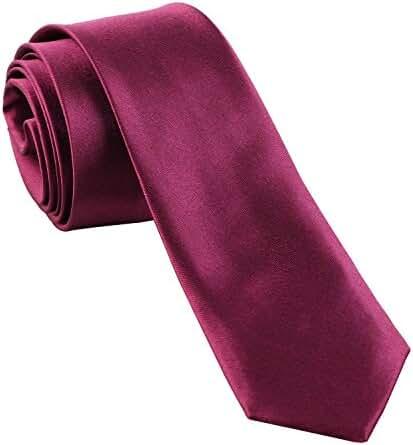 Men's Candy Color Slim Tie