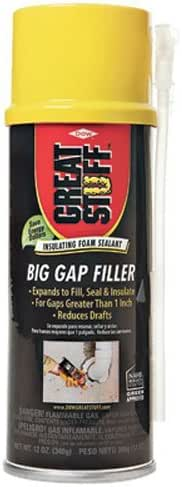 Great Stuff 157906 Insulating Foam Sealant, 12 oz, Cream