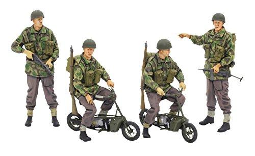 Tamiya Models British Paratroopers/Small Motorcycles (Folding Submachine Gun)