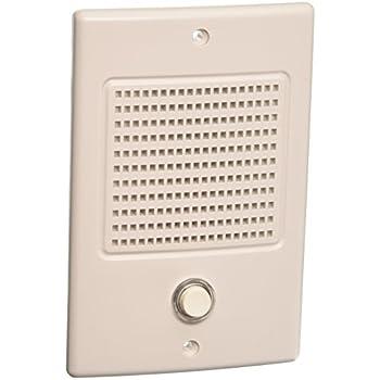 amazon com nutone door speaker in white finish electronics