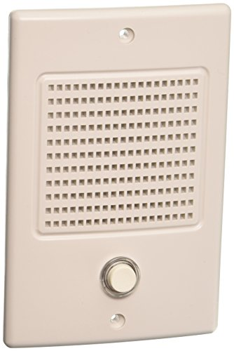 Door Entry Intercom - Nutone Door Speaker In White Finish