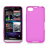 Silicone Skin Soft TPU Gel Cover Case For BlackBerry Z30, Pink