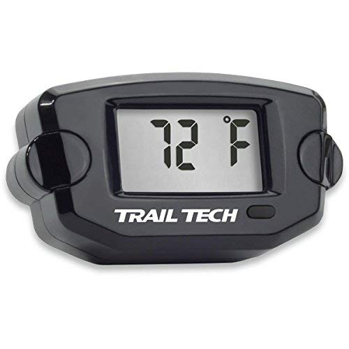 Trail Tech 742-ES3 Black TTO Temperature Digital Gauge CVT Belt Sensor - Atv Tech Trail