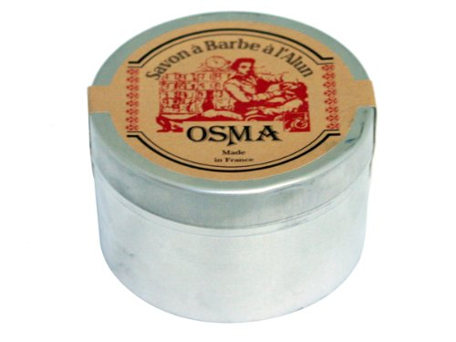 Osma Shaving Soap with Alum and Shea Butter