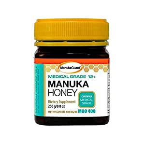 Manukaguard Medical Grade Manuka Honey 12+ Dietary Supplement, 8.8 Ounce