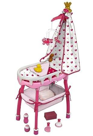 44d7329771e2 Klein 1693 - Accessoires pour poupée - Centre de puériculture 3 en 1  Princess Coralie