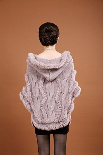 Anmoson - Abrigo - para mujer caqui