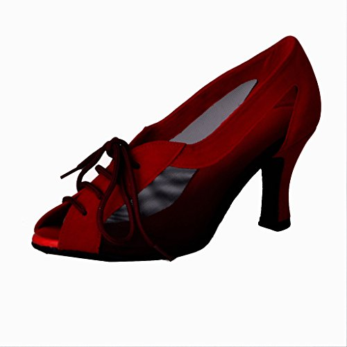 Dance Foo Frauen für Jig Praxis Schuhe Ballroom Latin ChaCha Salsa Rumba Rvq0d