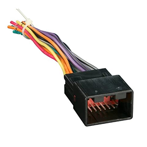 Metra 70-1771 Radio Wiring Harness for Ford/Lincoln/Mazda 1998-Up into Car, 16 Pin - Ford Installation Kit