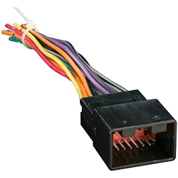41nl7RsR8aL._SL500_AC_SS350_ amazon com metra 70 1761 radio wiring harness for toyota 87 up Car Stereo Wiring Colors at alyssarenee.co