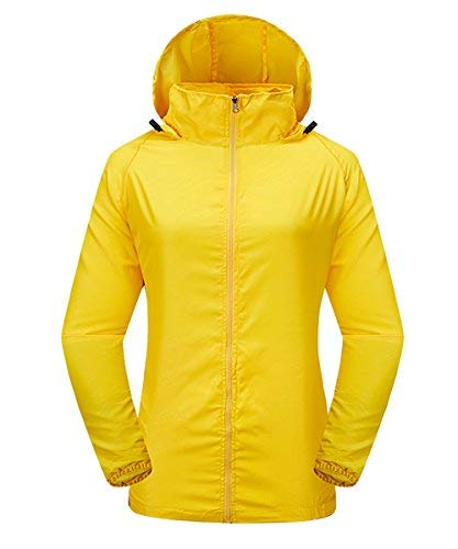 LakeRom Unisex Lightweight UV Protect Hooded Quick Dry