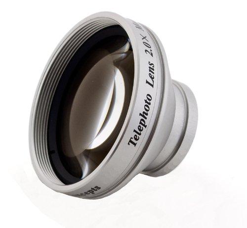 2.0 X High Grade望遠変換レンズ(30 mm) for Sony Handycam dcr-sr67   B0044W2YVI