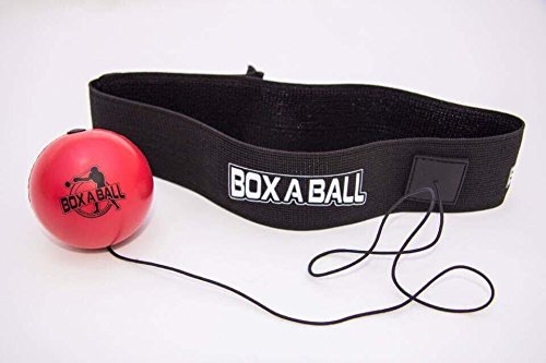 Boxing Reflex Ball Great for Training to Improve Reactions and Speed, Boxaball Boxing Gym Equipment Super for Both Training and Fitness