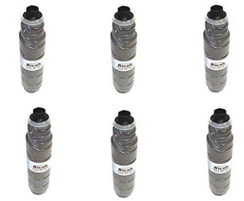 Lanier Copier Toner (6 pack of Compatible Lanier LD225 LD230 black printer ink copy toner Cartridge for Ricoh Type 2120D Lanier LD225 LD230 Digital Copier machine)