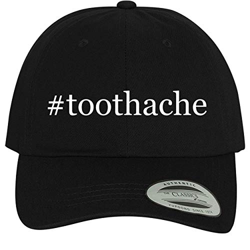 BH Cool Designs #Toothache - Comfortable Dad Hat Baseball Cap, Black