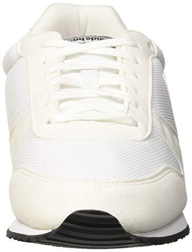 White Sneaker White Le Bianco White Alpha Coq Sportif optical Ii Uomo Optical nAqZv1x