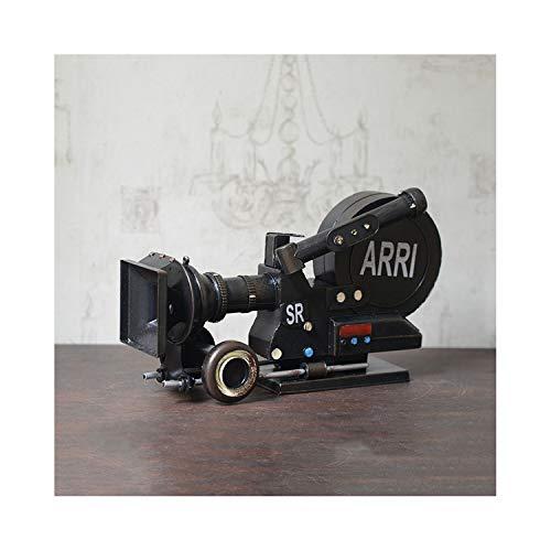(Retro Vintage Film Projector Film Movie Machine Model Photography Projector Clothing Shop Window Props)