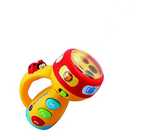 VTech Early Education Toy Spin and Learn Color Flashlight Music Toy for Kids by BabyVTechToys