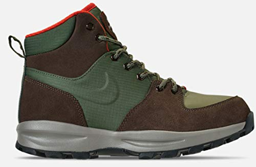 more photos 89f01 416ba Nike Mens Air Manoa Boots Army Olive Baroque Brown BQ3380-300 Size 11.5