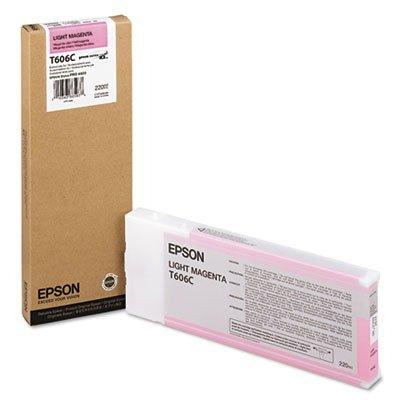 Epson UltraChrome K3 Ink Cartridge - 220ml Light Magenta (T606C00) (Epson 220 Inks)