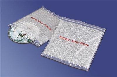 Bubble Reclosable Bags - ZipTop Clear Bubble Reclosable Bags 6 x 8 50/CTN